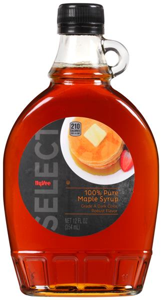 Hy-Vee Select 100% Pure Maple Syrup