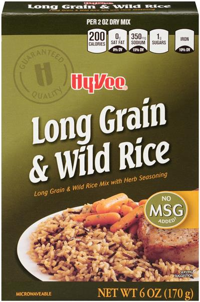 Hy-Vee Long Grain & Wild Rice
