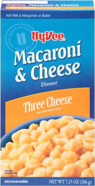 Hy-Vee Three Cheese Shells & Cheese Dinner