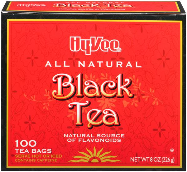 Hy-Vee Black Tea Bags 100 Count
