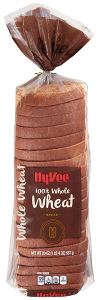 Hy-Vee 100% Whole Wheat Bread
