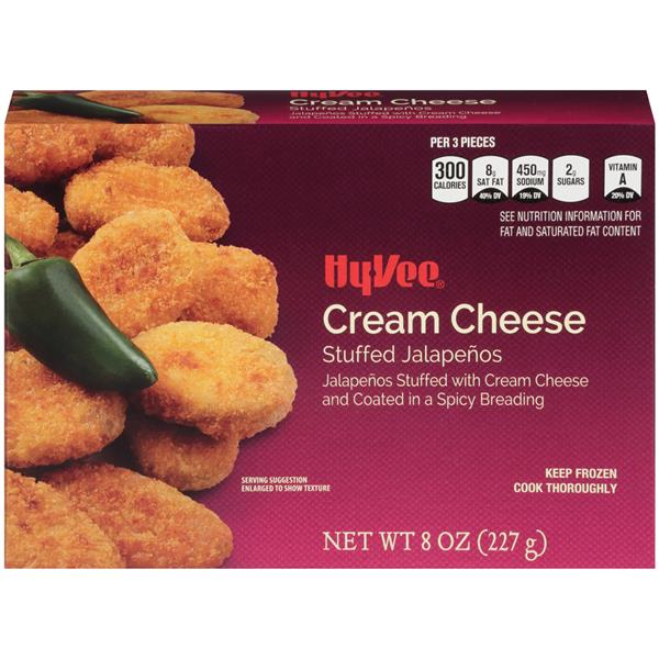 Hy-Vee Cream Cheese Stuffed Jalapenos