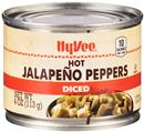 Hy-Vee Hot Diced Jalapeno Peppers