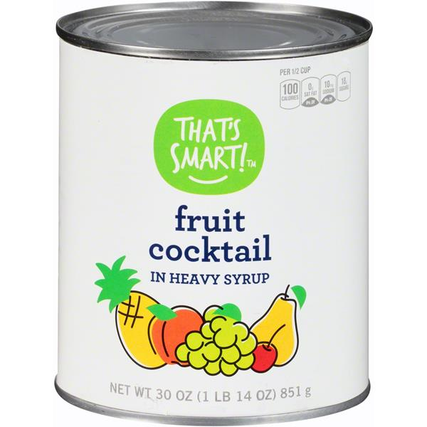That's Smart! Fruit Cocktail In Heavy Syrup