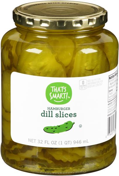 That&#39s Smart! Hamburger Dill Pickle Slices