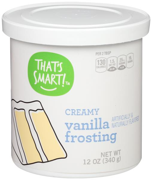That's Smart! Creamy Vanilla Frosting
