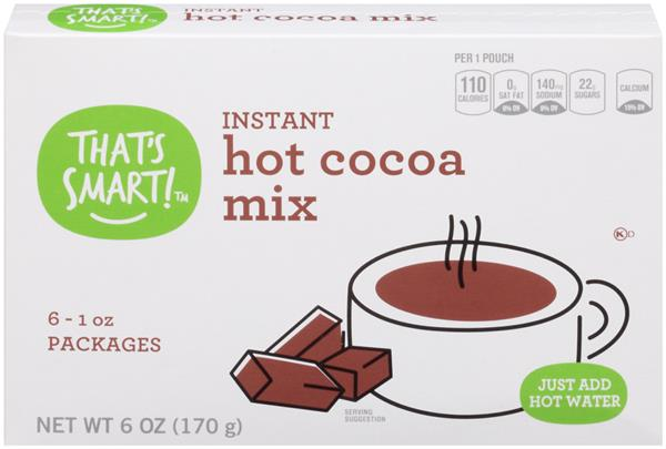 That's Smart! Hot Cocoa Mix 6-1 oz Packages