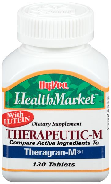 Hy-Vee HealthMarket Therapeutic-M Dietary Supplement Tablets
