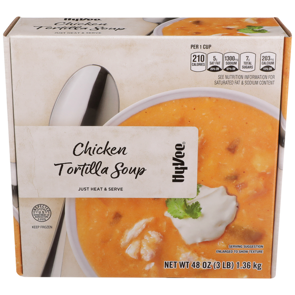 Hy-Vee Du Jour Chicken Tortilla Soup