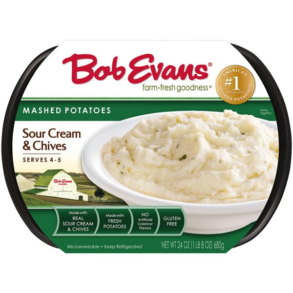 Bob Evans Sour Cream & Chives Mashed Potatoes