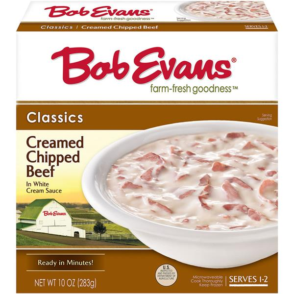 Bob Evans Classics Creamed Chipped Beef in White Cream Sauce