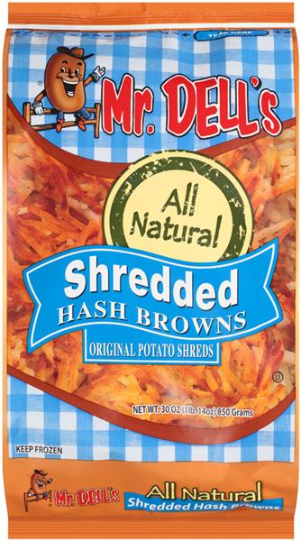 Mr. Dell's All Natural Shredded Hash Browns
