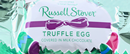 Russell Stover Truffle Egg, Milk Chocolate