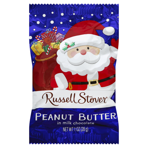 Russell Stover Peanut Butter in Milk Chocolate Single