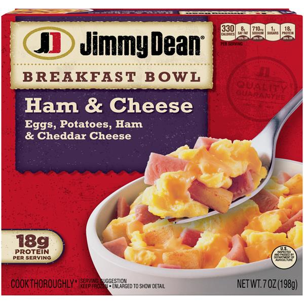 Jimmy Dean Breakfast Bowl Ham & Cheese
