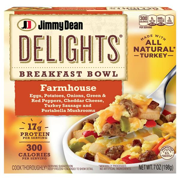 Jimmy Dean Delights Farmhouse Breakfast Bowl