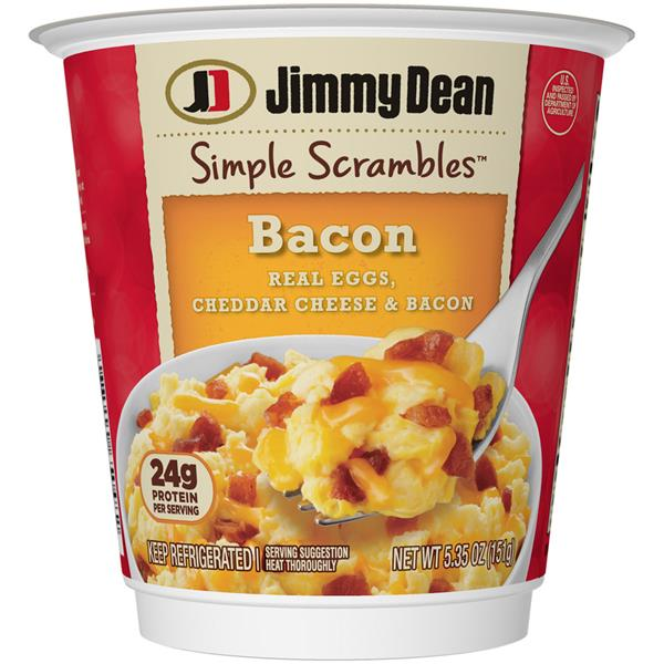 Jimmy Dean Simple Scrambles Bacon, 5.35 oz.