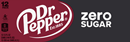 Dr Pepper Zero Sugar 12Pk