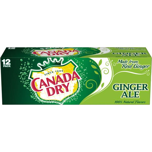 Canada Dry Ginger Ale 12 Pack