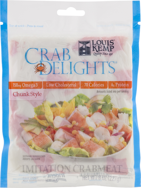 Louis Kemp Louis Kemp Crab Delights Chunk Style