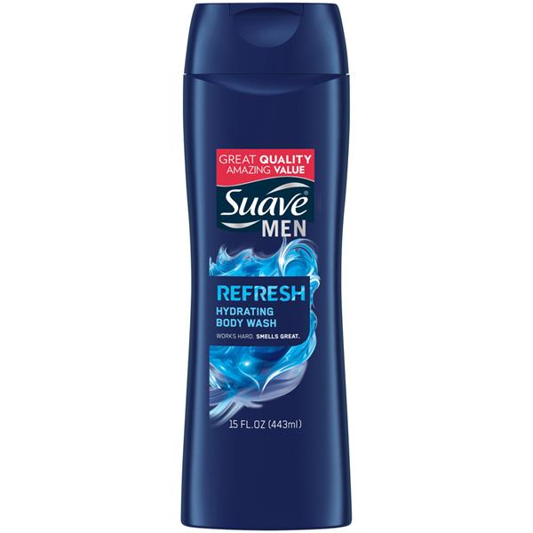 Suave Men Refreshing Body Wash