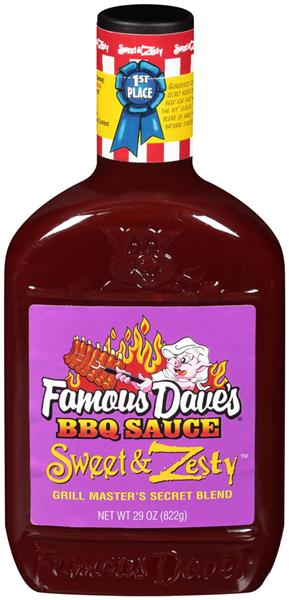 Famous Dave's Sweet & Zesty BBQ Sauce