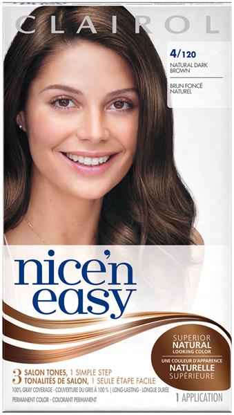 Clairol Nice 'N Easy Permanent Color 4/120 Natural Dark