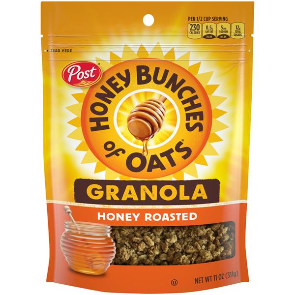 Honey Bunches of Oats Crunchy Honey Roasted Granola