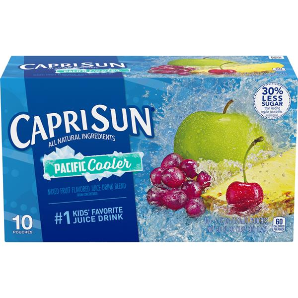 Capri Sun Pacific Cooler Drink 10-6 fl oz Pouches