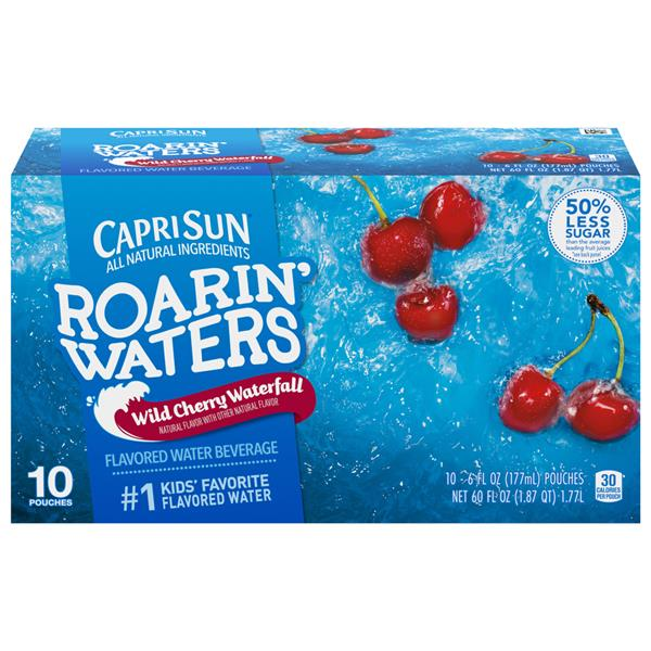 Capri Sun Roarin' Waters Wild Cherry Waterfall 10-6 fl oz Pouches