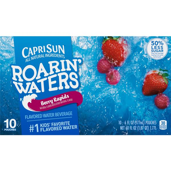 Capri Sun Roarin' Waters Berry Rapids 10-6 fl oz Pouches
