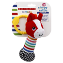 Scholastic Chrpy Animal Rattle