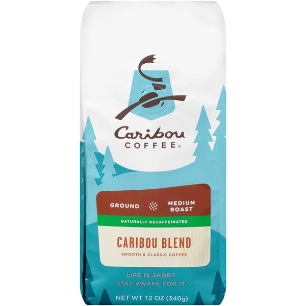 Caribou Coffee Decaf Caribou Blend Medium Roast Ground Coffee