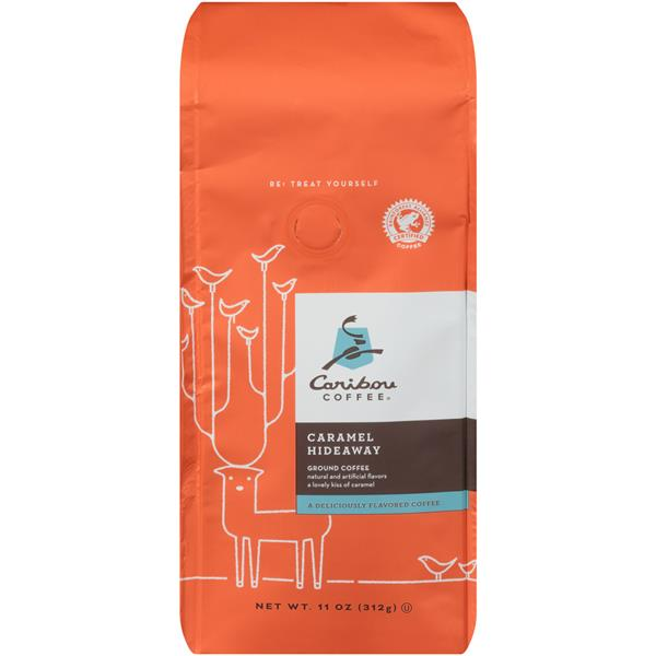 Caribou Coffee Caramel Hideaway Ground Coffee
