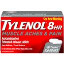 Tylenol 8HR Muscle Aches & Pain Caplets 650mg