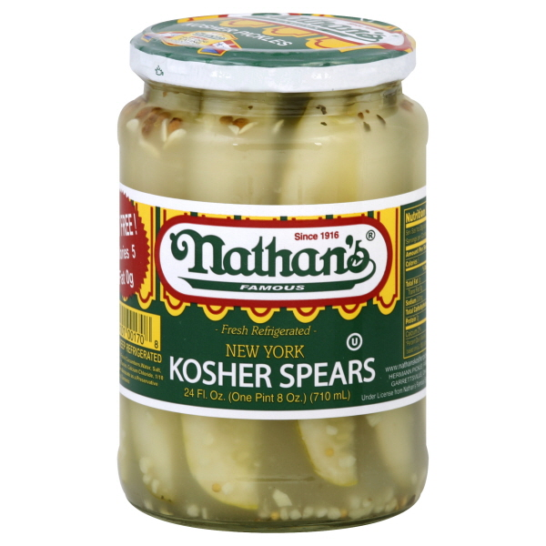 Nathan's Famous New York Kosher Spears
