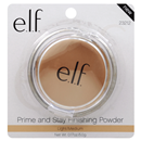 e.l.f. Prime And Stay Finishing Powder Light/Medium
