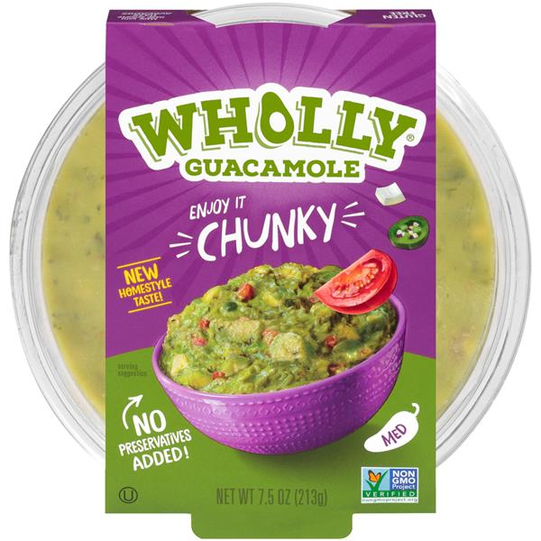 Wholly Guacamole Med Chunky