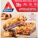 Atkins Chocolate Peanut Butter Pretzel Meal Bars 5-1.69 oz Bars