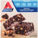 Atkins Triple Chocolate Snack Bar 5-1.41 oz Bars