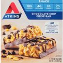 Atkins Day Break Chocolate Chip Crisp Morning Snack Bars 5-1.23 oz Bars