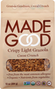 MadeGood Crispy Light Granola, Cocoa Crunch