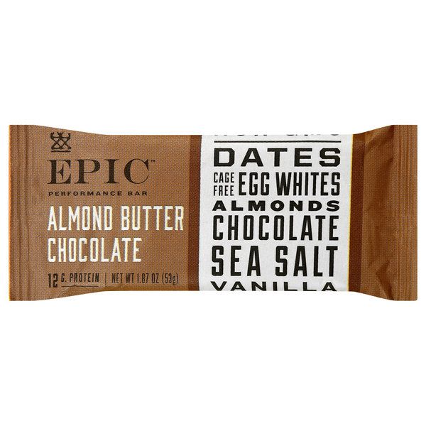 EPIC Performance Bar Almond Butter Chocolate