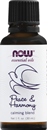 NOW Essential Oils, Peace & Harmony, Calming Blend