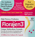 Florajen 3 Probiotic Dietary Supplement Capsules
