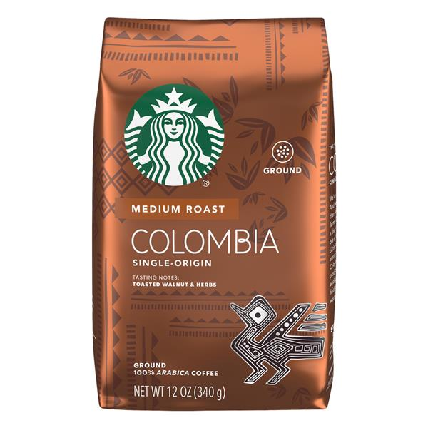 Colombia Single-Origin Balanced & Nutty Medium Ground Coffee