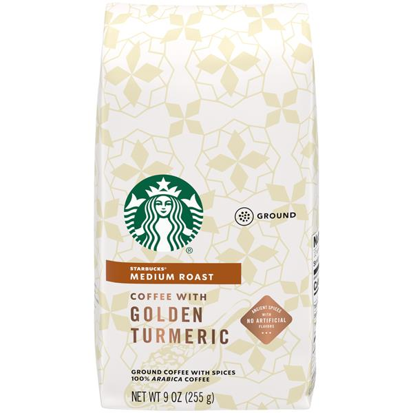 Starbucks Medium Roast Ground Coffee with Golden Turmeric | Hy-Vee Aisles  Online Grocery Shopping