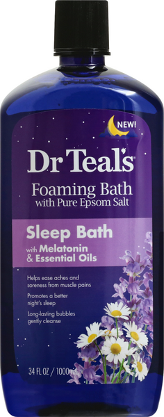 Dr Teal's Sleep Bath With Melatonin & Essential Oils