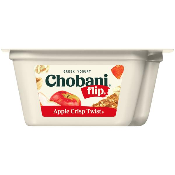 "Chobani ""Flip"" Apple Crisp Twist Greek Yogurt"