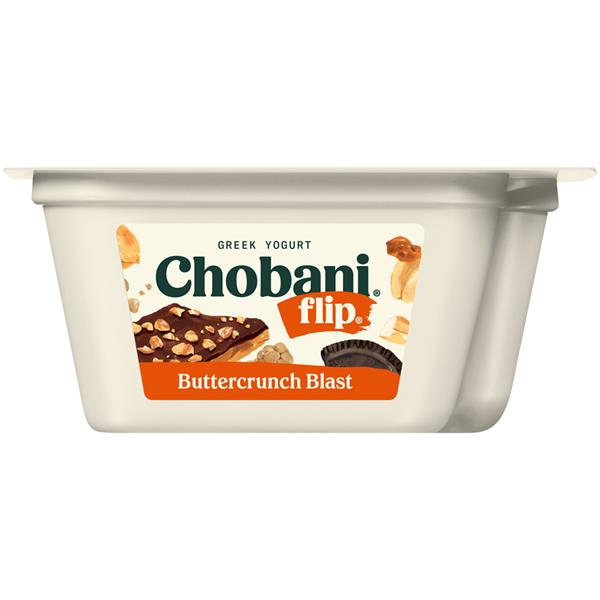 Chobani Flip Buttercrunch Blast Low-Fat Greek Yogurt
